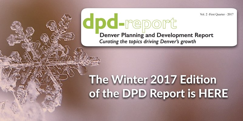 The Winter 2017 Edition of the DPD Report is HERE